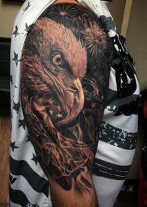 aguila en tatuaje