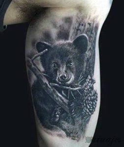 tatuajes de osos pardos