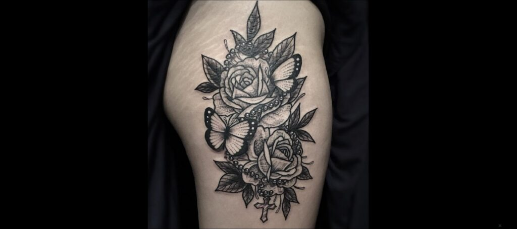 tatuaje del rosario