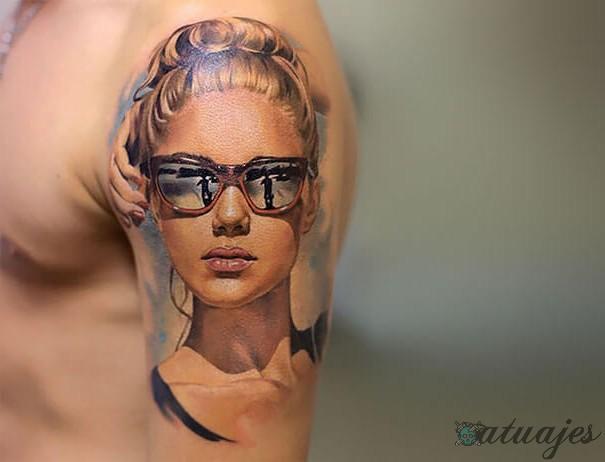 tatuajes realistas para hombres